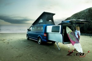 «Двойной» кузов Volkswagen Transporter