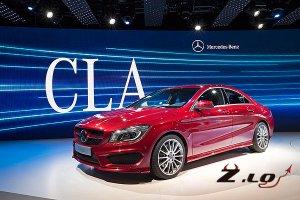 Седан Mercedes-Benz CLA поступит в продажу уже с апреля.