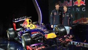 Команда Infiniti Red Bull Racing организовала презентацию новой гоночной мо ...