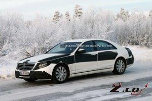 Новым Mercedes S-класс