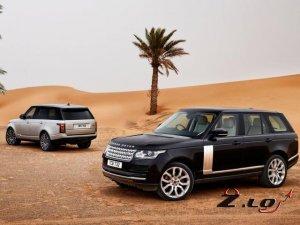 Range Rover представит модель с усовершенствованным бензиновым V6