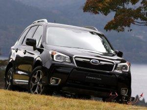 Обновленный кроссовер Subaru Forester