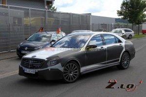 Шпионы сумели снять новинку 2014 года - Mercedes-Benz S-Class