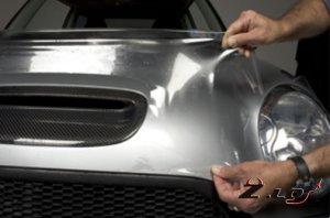 Для чего используют защитную пленку на автомобиле?
