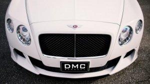 Bentley Continental GT Coupe попал на прокачку в немецкое ателье DMС