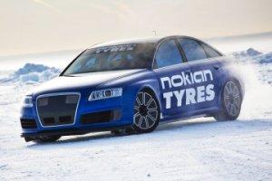 Новый рекорд скорости на льду от шин Nokian