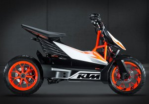 Первый электрический мотоцикл KTM
