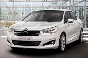 Седан Citroen C4 будет стоить порядка 580 тысяч рублей