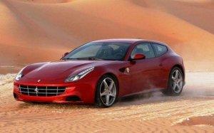 Ferrari FF прошел тест на московских дорогах