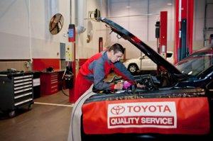 Особенности технического обслуживания Toyota