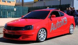 В ателье Auto K9 сделали из седана Renault Logan полноценное купе