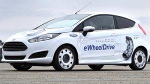 Новый Ford Fiesta с электроприводом в колесах