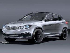Кроссовер BMW X6 нового поколения