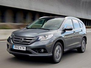 Honda CR-V появилась в нашей стране с новым мотором