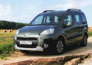 Peugeot Partner - компактный и с высокой грузоподъемностью