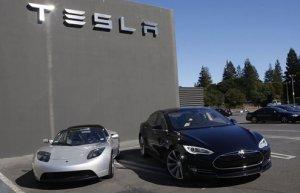 Акции Tesla начали расти на мировой бирже