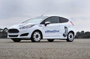 Разработан электрический вариант автомобиля Ford Fiesta