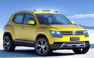 Новый Volkswagen Taigun - самый маленький внедорожник концерна