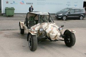 Внедорожники Гепард для российской армии
