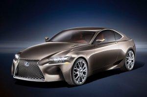 Представление среднеразмерного купе от Lexus LF-CC