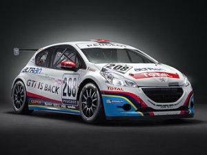 Компания Peugeot произвела покраску гоночного автомобиля