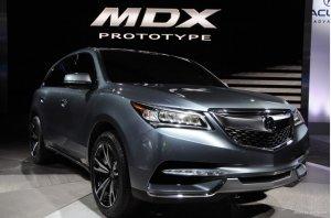 Новый кроссовер Acura MDX будет в России через год