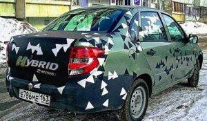 Lada Granta получит гибридный привод