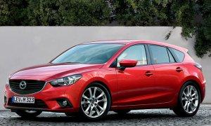 Появилось изображение Mazda3 в глянцевом журнале