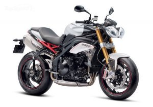 Новый мотоцикл Triumph Speed Triple R Dark 2013 в ограниченной версии