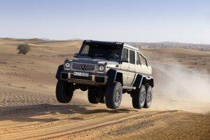 В России появится шестиколесный Mercedes-Benz G 63 AMG