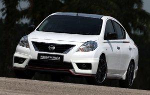 Nissan Almera получил спортивный пакет от ателье Nismo