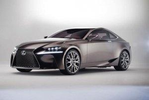 Купе Lexus LF-CC с мощным мотором