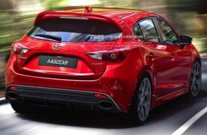 Заряженная версия от Mazda 3
