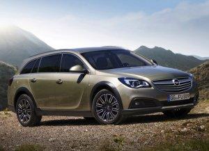 «Внедорожная» версия расширила линейку автомобилей Opel Insignia
