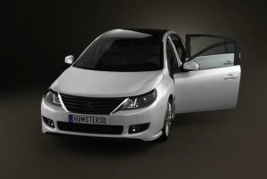 Обновленный седан Renault Latitude официально представлен производителем
