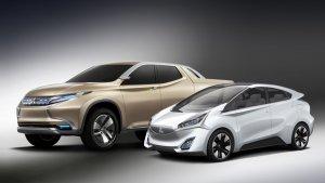 Mitsubishi Motors выложила фотографии двух новых концептов