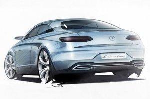 Первые фотографии купе Mercedes-Benz S-Class