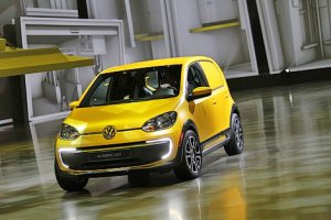 На автосалоне представлен Volkswagen E-load Up! – электромобиль для развозч ...