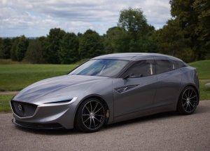 Концептуальный хэтчбек Mazda от простых студентов