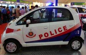 Tata Nano стал автомобилем для полиции