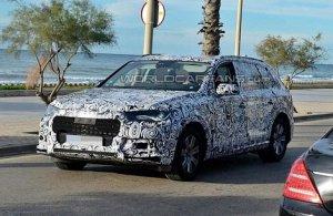 Шпионы сфотографировали автомобиль Audi Q7
