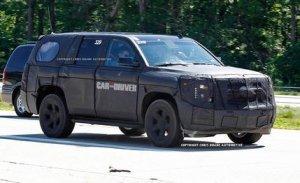 Совершенно новый Chevrolet Tahoe
