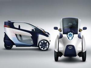 Toyota будет выпускать трехколесный электромобиль