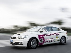 Автомобиль китайского производства впервые смог сдать экзамены на