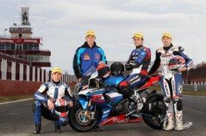 Специальная версия мотоцикла Suzuki GSR 750 SERT в честь очередной победы в ...