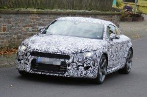 Фотошпионам удалось сфотографировать автомобиль Audi TT