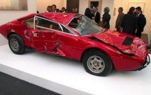 Ferrari Dino GT4 был продан в шесть раз дороже своей стоимости