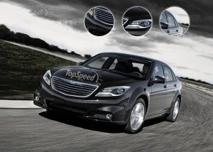 Производство нового Chrysler 200 стартует в 2014 году