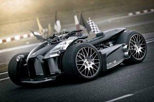 Неожиданностью стал мотор Ferrari интегрированный в квадроцикл