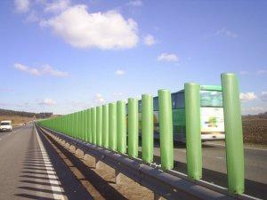 Противоослепляющие экраны для российских дорог